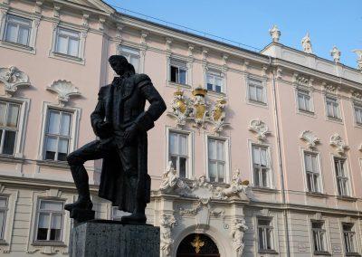 Judenplatz, Lessing Denkmal